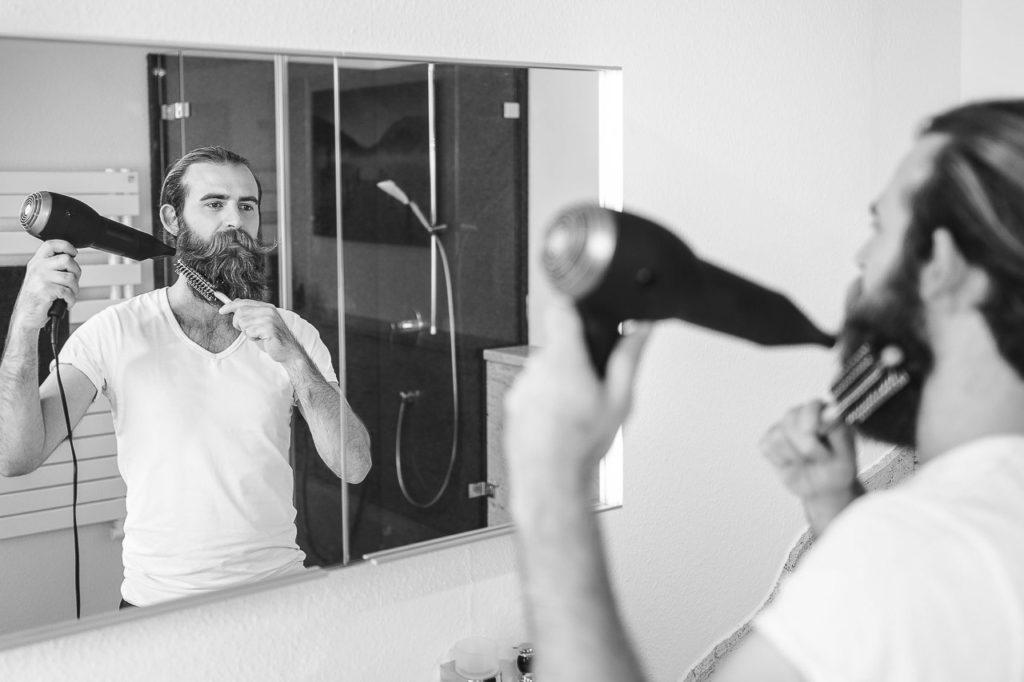 Wie du deinen Bart in Form bekommst.