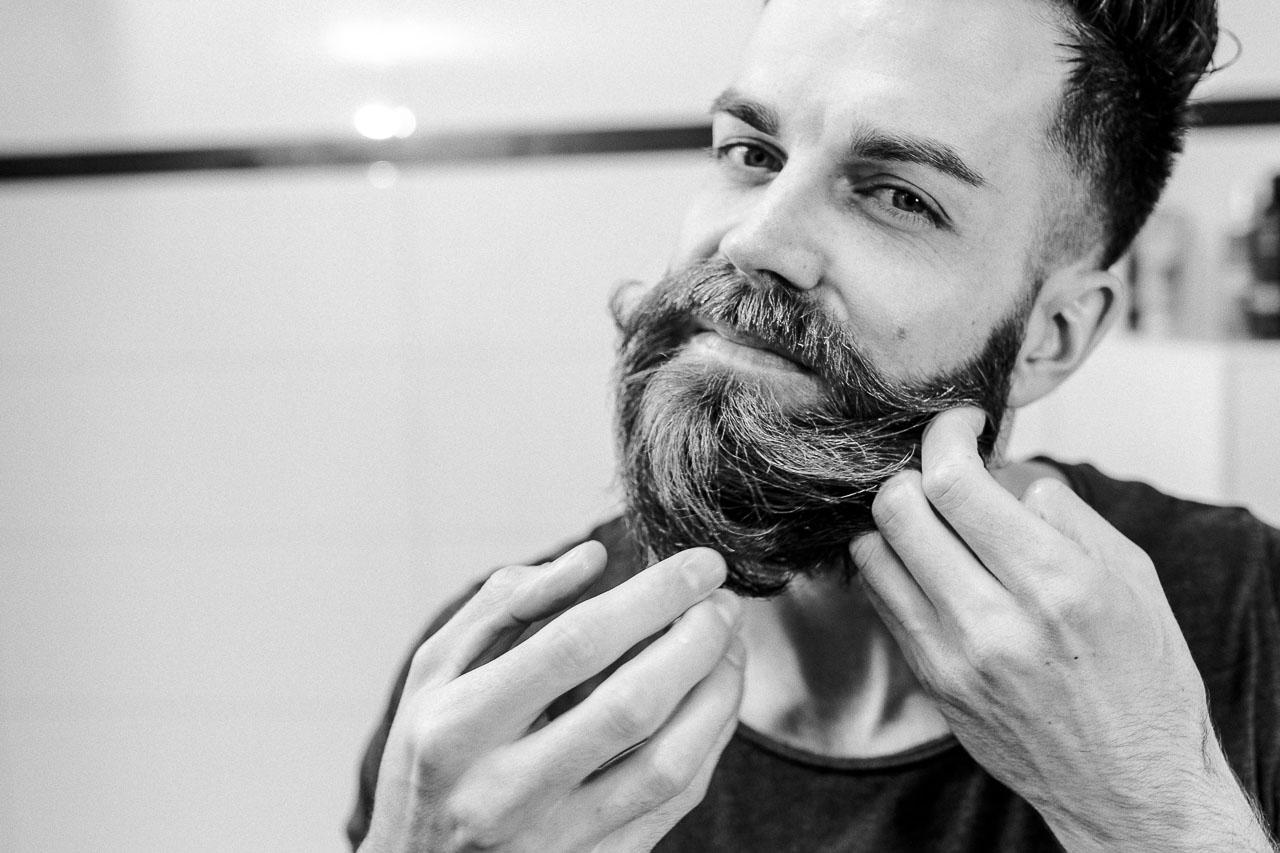 Mit richtigem Styling ist dein Bart ein echter Hingucker.