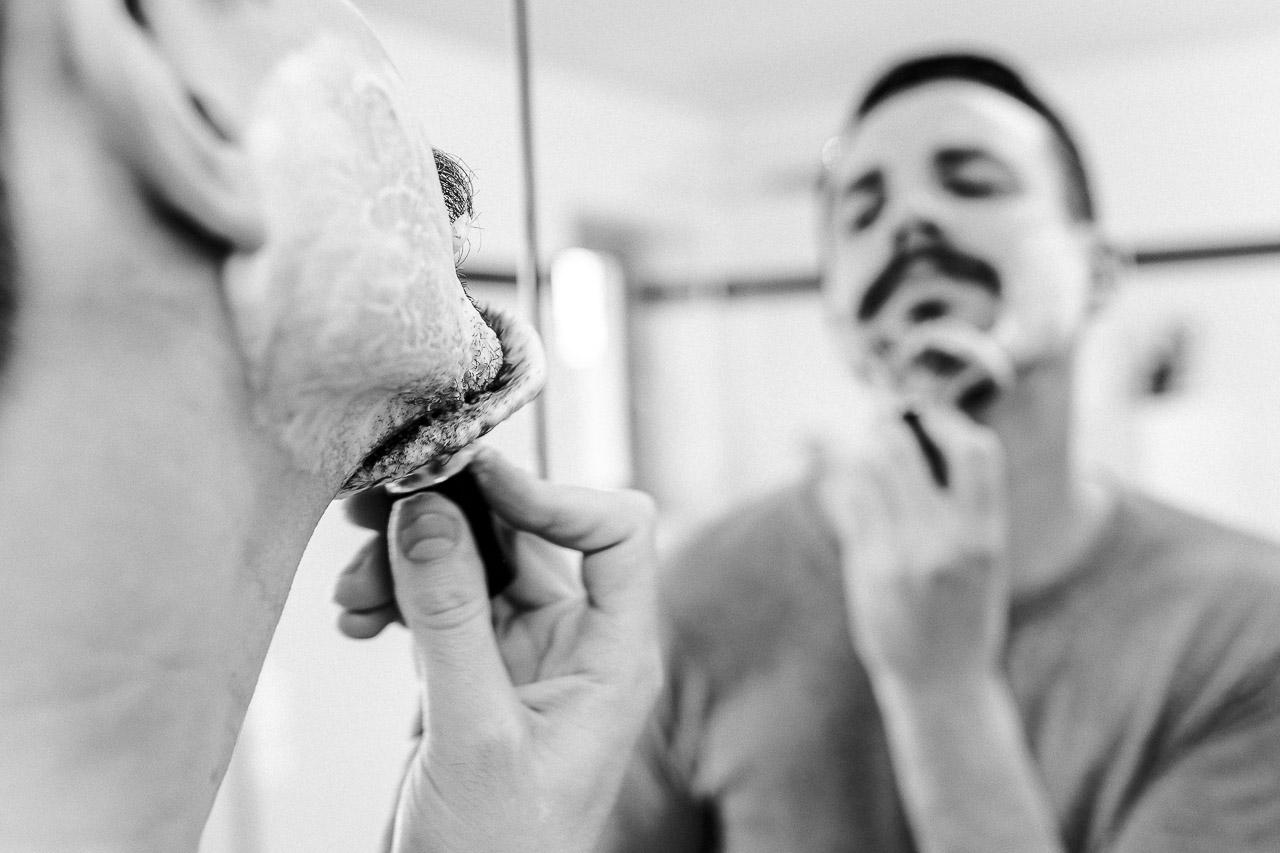 peeling vor oder nach dem rasieren
