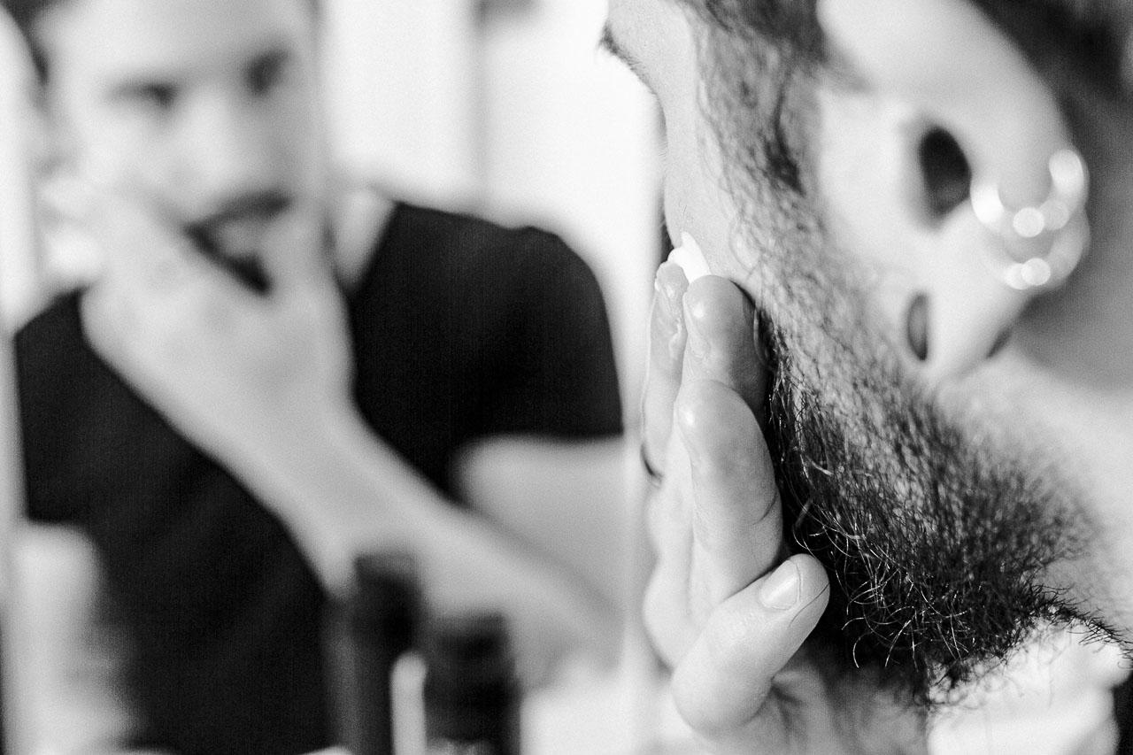 Hautirritationen nach der Rasur vermeiden.