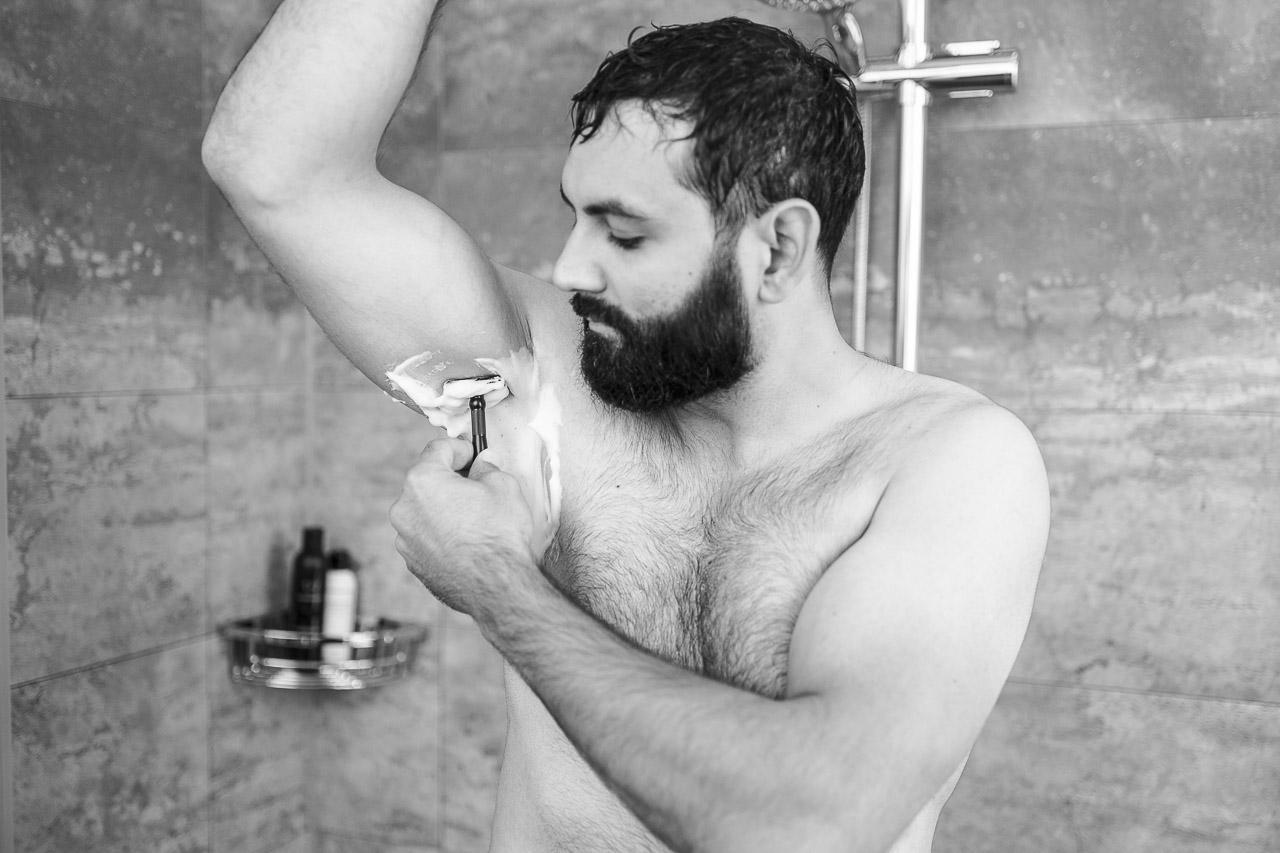 lange mint rasur dusche