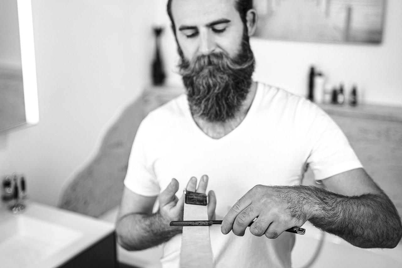 Die richtige Pflege für dein Rasiermesser.