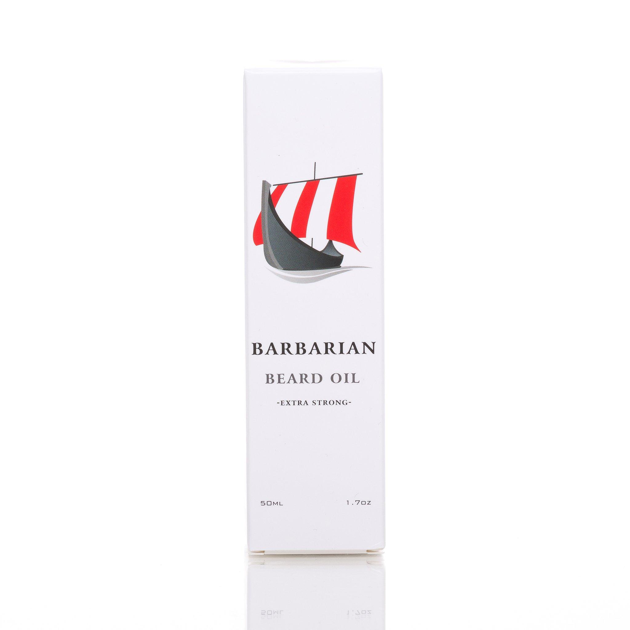 Mr. Burtons Bartöl Barbarian: Tolles Design, hochwertige Verpackung