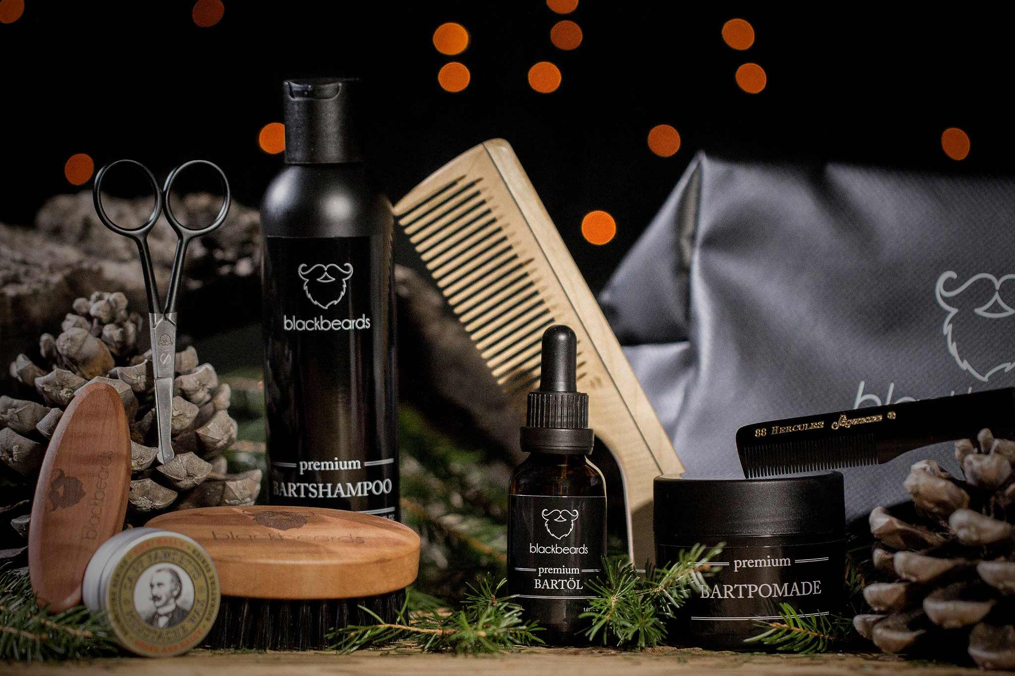 blackbeards Bartpflege Set Ultimativ im Shop