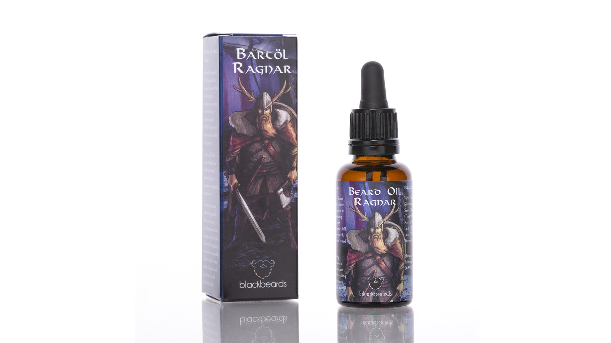 blackbeards Bartöl Ragnar 30ml