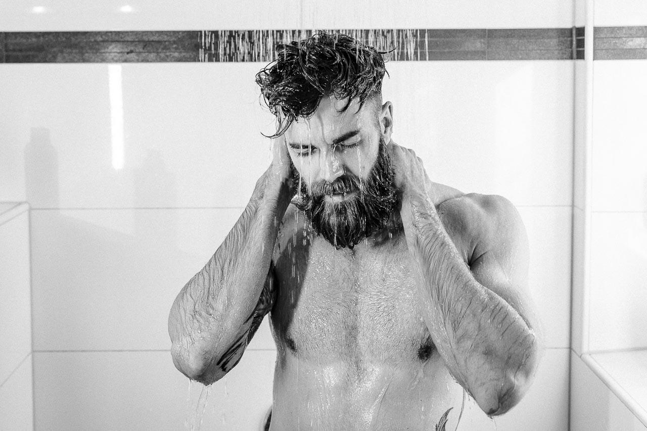 Jeden Morgen duschen will gekonnt sein.