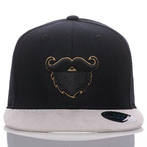 Das blackbeards Snapback Cap Suede Gold