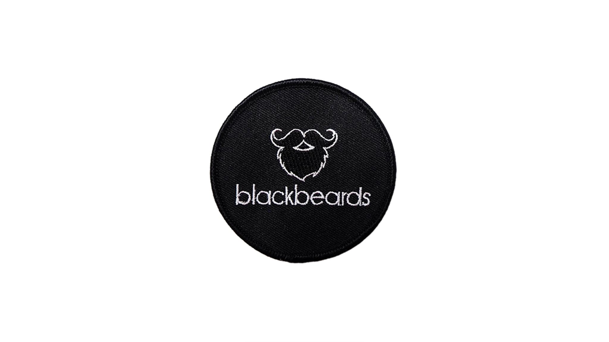 Ein Zeichen, dass du ein eingefleischter blackbeards Fan bist. Der Aufnäher mit dem blackbeards Logo.