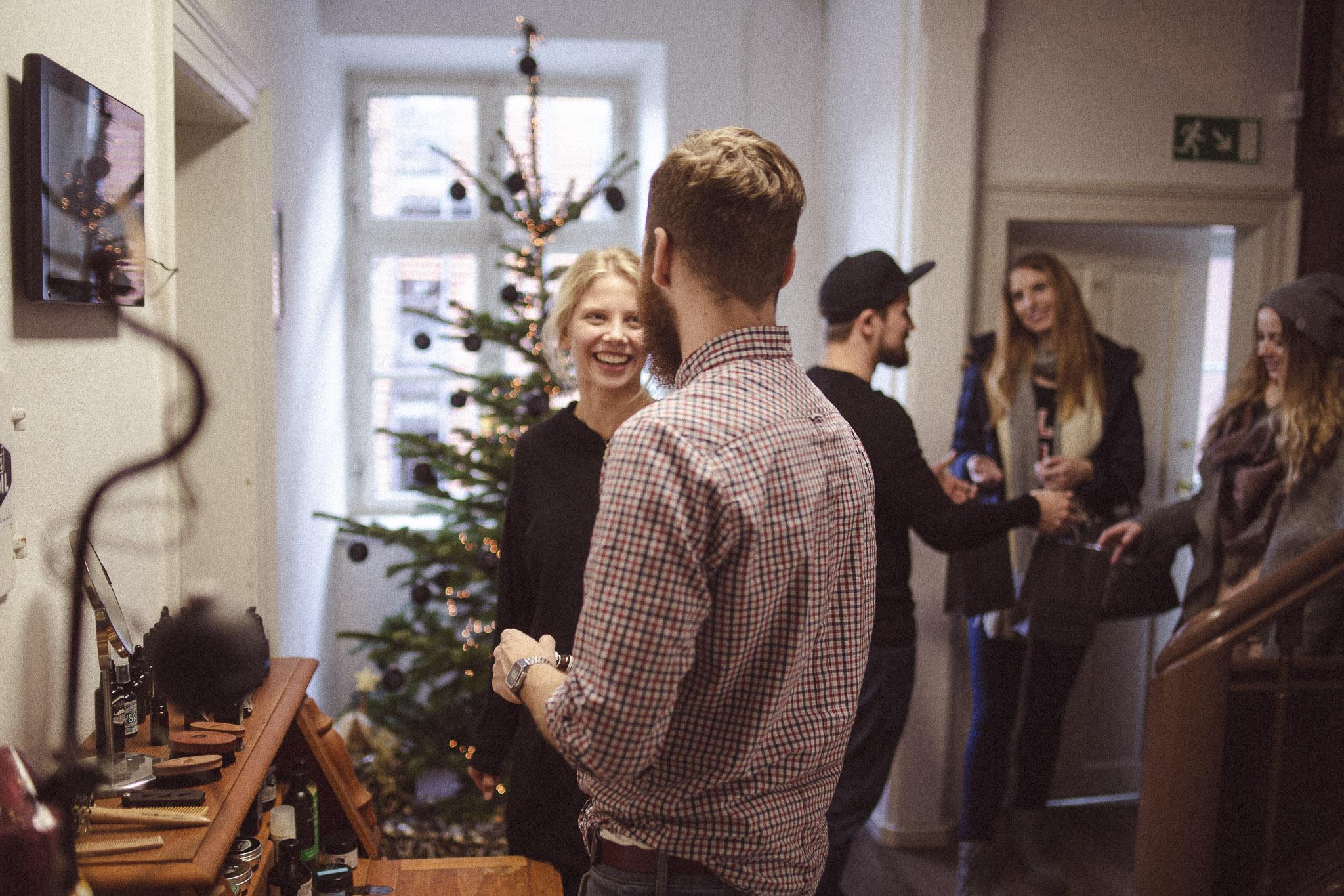 So schön ist es in der Weihnachtszeit bei den blackbeards.