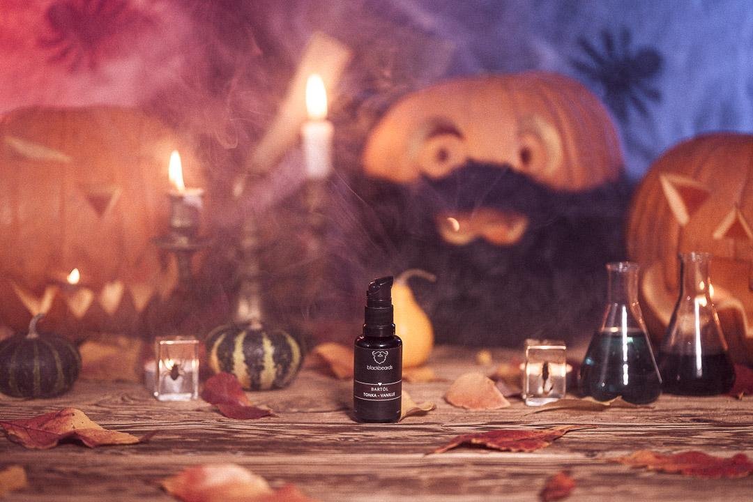 Halloween blackbeards Bartöl Tonka Vanille