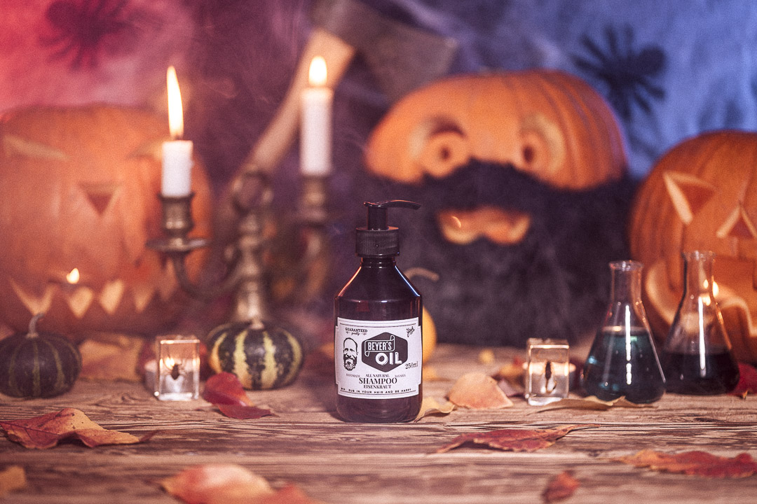 blackbeards Halloween Beyer's Oil Shampoo Eisenkraut