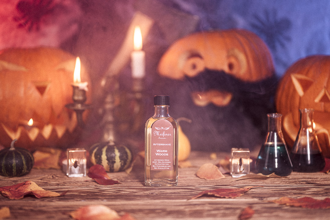 blackbeards Halloween Meißner Tremonia After Shave Warme Hölzer