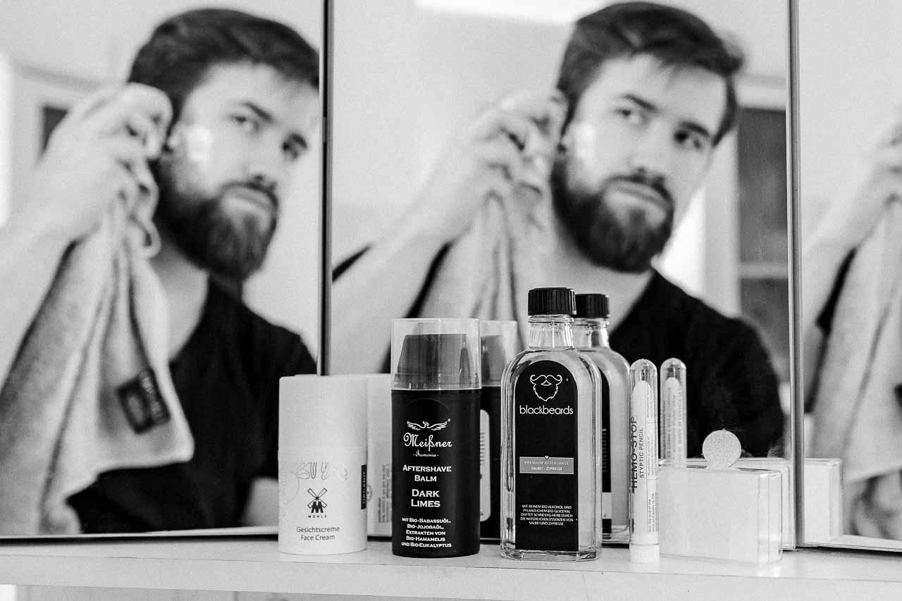 After Shave ist nicht gleich Rasierwasser.