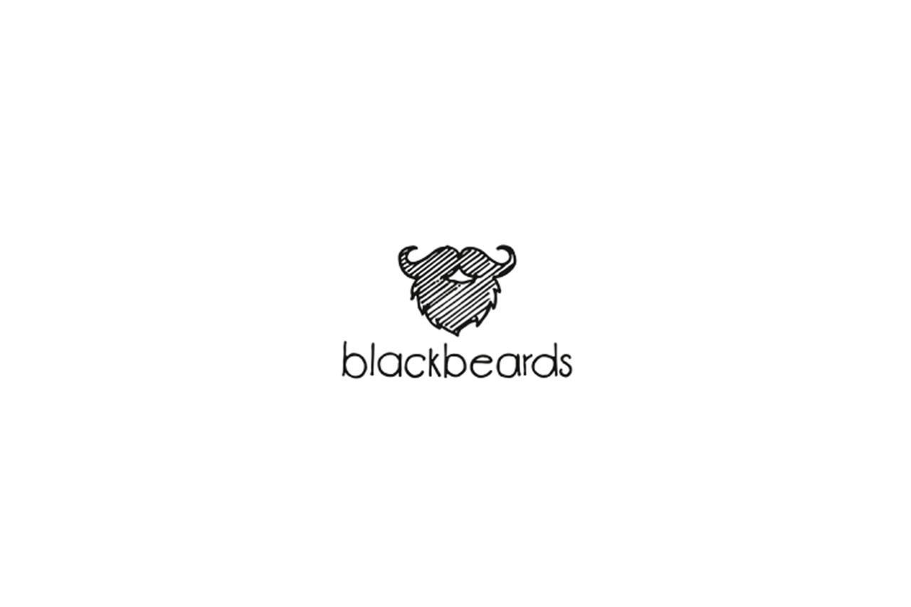 blackbeards Logo als Skizze.
