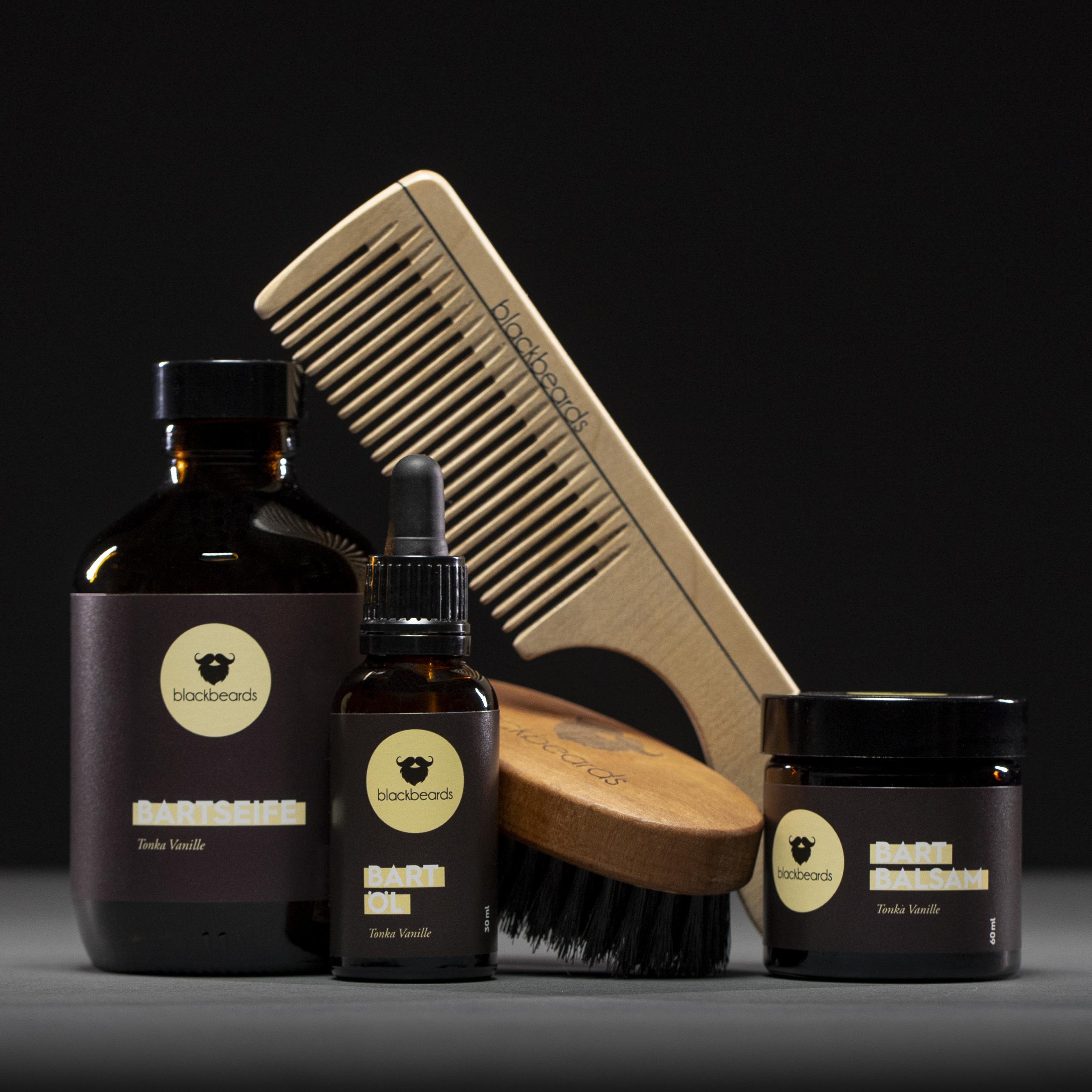 blackbeards Bartpflege Set Deluxe im Sale.