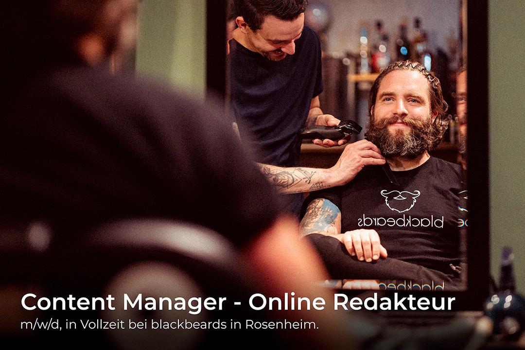 Stellenangebot: Content Manager - Online Redakteur (m/w/d) in Rosenheim.